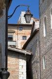 意大利小的村庄 库存照片