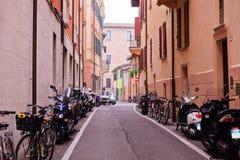 意大利小的街道 库存图片