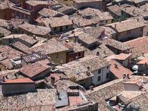 意大利屋顶 免版税库存图片