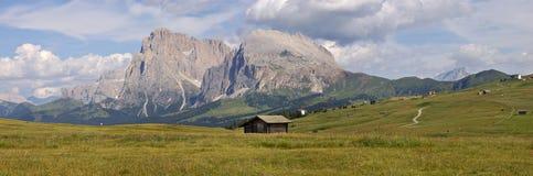 意大利山全景 免版税库存照片
