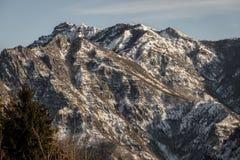 意大利山desaturate 库存图片
