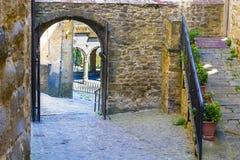 意大利市卡斯蒂廖恩菲奥伦蒂诺 库存照片