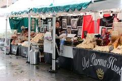 意大利市场 库存照片