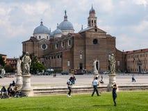 意大利帕多瓦视窗 免版税库存照片