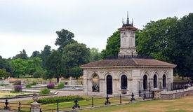 意大利庭院-海德公园,伦敦 免版税图库摄影