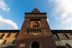 意大利建筑学,米兰,意大利Deatail  免版税库存图片