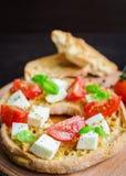 意大利开胃菜Friselle 库存图片