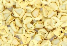 意大利式饺子墙纸 库存图片
