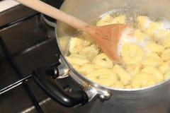 意大利式饺子 免版税库存图片