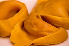 意大利式饺子 库存图片
