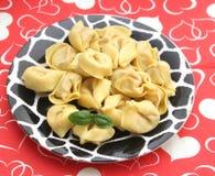 意大利式饺子 免版税库存照片