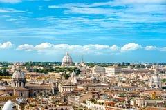 意大利彼得・罗马圣 免版税库存照片