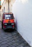 意大利微小的卡车 免版税图库摄影