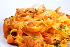 意大利意大利面食牌照 免版税库存照片