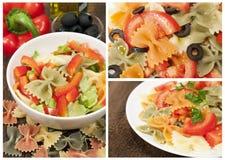 意大利意大利面食的收集 库存图片