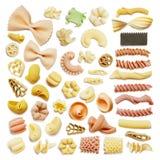 意大利意大利面食背景 免版税库存照片