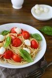 意大利意大利面食蕃茄 免版税图库摄影