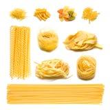 意大利意大利面食 免版税库存照片