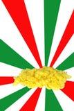 意大利意大利面食 皇族释放例证