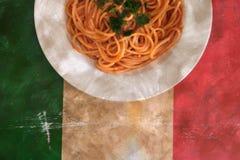 意大利意粉纹理 免版税图库摄影