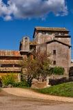 意大利房子 库存图片