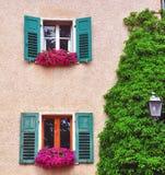 意大利房子 免版税库存照片