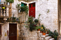 意大利托斯卡纳村庄 免版税库存图片