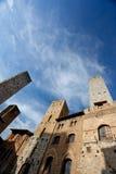 意大利托斯卡纳 San Gimignano 库存照片