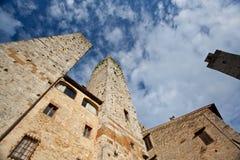 意大利托斯卡纳 San Gimignano 免版税库存图片