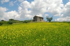 意大利拉齐奥sabina 免版税库存图片
