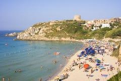 意大利撒丁岛st特里萨 图库摄影