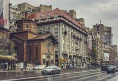 意大利教会,布加勒斯特,罗马尼亚 免版税库存图片