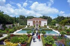 意大利新生庭院在汉密尔顿花园-新西兰 免版税图库摄影