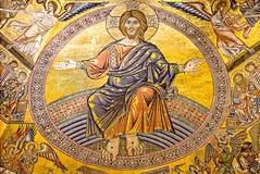 意大利新生:圣约翰洗礼池,佛罗伦萨 库存图片