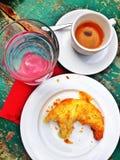 意大利早餐 库存图片