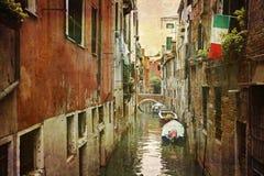 意大利明信片系列 库存图片
