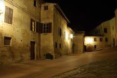 意大利晚上 库存照片