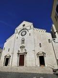 意大利普利亚巴里,圣尼古拉斯大教堂 库存照片