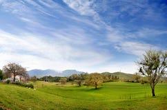 意大利村庄 免版税库存图片