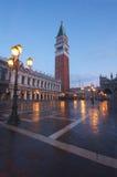 意大利标记圣徒正方形威尼斯 免版税图库摄影