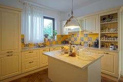 意大利样式厨房 库存图片