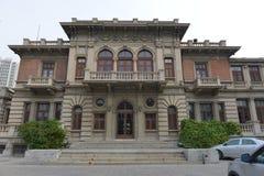 意大利样式街道历史建筑在天津 免版税库存图片