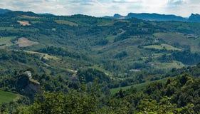 意大利横向托斯卡纳 图库摄影