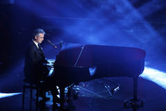 意大利歌曲的节日, Sanremo 2013年 库存照片
