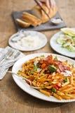 意大利正餐 免版税库存图片