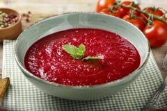 意大利汤蕃茄 库存照片