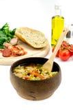 意大利汤 免版税库存图片
