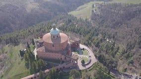 意大利波隆纳城市风景鸟瞰图 股票视频