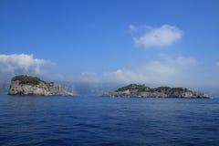 意大利海岛 库存照片
