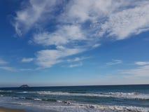 意大利海岸墙纸  库存照片